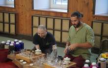 Moychay tea tasting meeting in moscow kodokan martial arts club 21 apr 2018 5