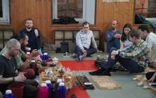 Moychay tea tasting meeting in moscow kodokan martial arts club 21 apr 2018 17
